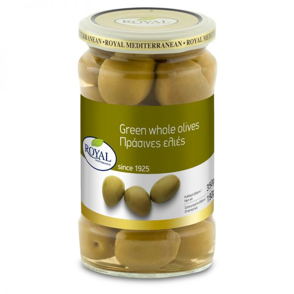 Green Olives Stuffed with Garlic & Jalapeno