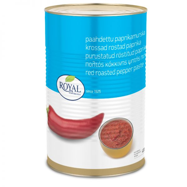 Red Roasted Peppers Paste