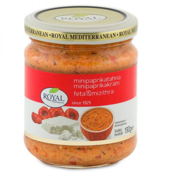 Sweet Red Pepper & Greek Feta/Mizithra Spread